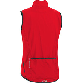 GORE WEAR C3 Light Windstopper Vest Men red
